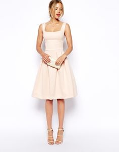 Enlarge ASOS PETITE Debutante Midi Dress