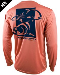 Grand Slam performance fishing shirts are bold, unique, UPF 50, lightweight, comfortable, fishing shirts for anglers everywhere.