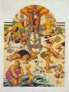 J.C. Leyendecker, original oil painting, illustration art for Saturday Evening Post cover.