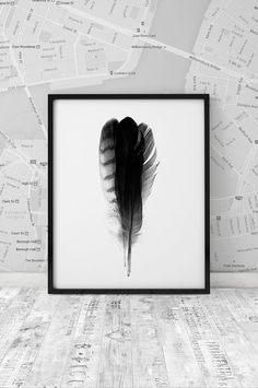 Hey, I found this really awesome Etsy listing at https://www.etsy.com/listing/236826321/feathers-poster-minimalism-poster