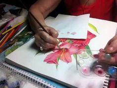 Ακουαρέλα tips - YouTube Simple Eye Makeup, Easy 5, Plastic Cutting Board, Playing Cards, Watercolor Art, Tips, Paint, Youtube, Picture Wall