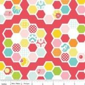 Riley Blake - Simply Sweet Quilt Red