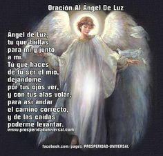 Oracion al Angel de Luz