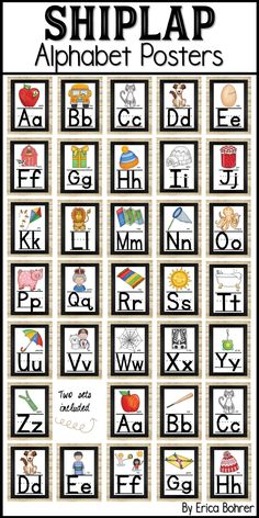 Home Interior Catalogo Shiplap style alphabet posters. Two versions.Home Interior Catalogo Shiplap style alphabet posters. Two versions. Cheap Beach Decor, Cheap Dorm Decor, Classroom Themes, Future Classroom, Classroom Organization, Kindergarten Classroom, Style Alphabet, Alphabet Board, Craftsman Home Interiors