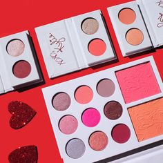 KYLIE COSMETICS — The Valentines collection.. Take a peak inside... @MANARELSAYED_ follow Pinterest for more amazing ideas