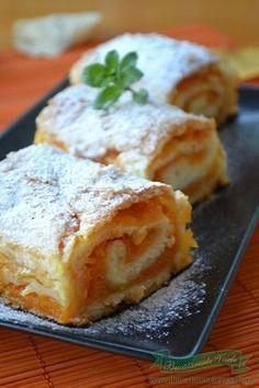 Baby Food Recipes, Cake Recipes, Dessert Recipes, Cooking Recipes, Romanian Desserts, Romanian Food, Strudel, Just Desserts, Delicious Desserts