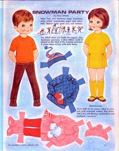 Children's Friend magazine 1970 - Neva Schulz - Lorie Harding - Picasa Web Albums * 1500 free paper dolls for other Pinterest paper doll pals at Arielle Gabriel's The International Paper Doll Society *
