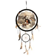 "13"" Indian (Born Hunters) Dream Catcher $14.99"