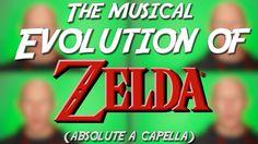 Die Evolution der ZELDA Musik - Komplett A Capella | Ein Jonas Wagner Cover