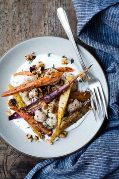 Za'atar Roasted Carrots and Green Beans | Recipe | Roasted Green Beans ...