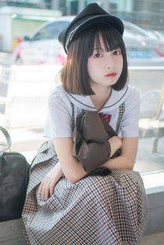 Yahoo!検索(画像)で「池田七帆 コスプレ」を検索すれば、欲しい答えがきっと見つかります。 Cute Asian Girls, Beautiful Asian Girls, Cute Girls, Cosplay Outfits, Cosplay Girls, Cute Japanese Girl, Japanese School, School Uniform Girls, Asia Girl