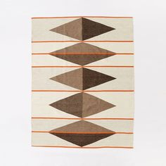 Terrazzo Wool Dhurrie Rug | West Elm. 8x10 = $599. 9x12 = $799