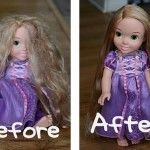 "I will be glad I kept this… Parents of girls, take note. A small spray bottle with 2 TBSP of fabric softener, the rest water = ""Doll Hairspray."" Easy method for smoothing and renewing any doll's hair. 