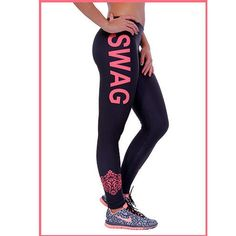 SWAG Workout Pants - Plus Size