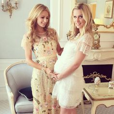 After a California baby shower, Paris hosted a second celebration in New York City for pregnant sister Nicky