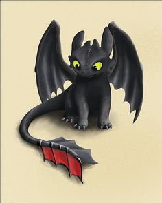 Toothless Inspired Dragon How To Train Your by Thinkingsimple