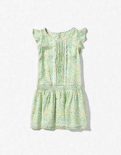 Green dress Zara
