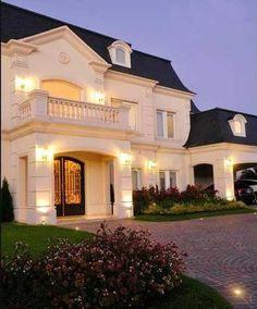casas estilo frances moderno - Buscar con Google