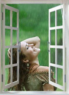 Bayan Gif Resimler Güzel Romantik Bayan Gifleri