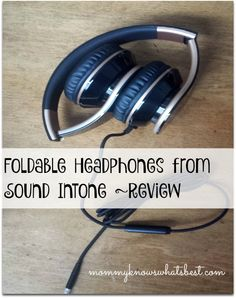 Want foldable headphones but don't want to shell out a ton of money for them? You would like theSound Intone I65 Stereo Foldable Headphones!