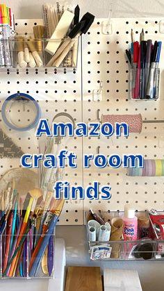 Craft Room Design, Craft Room Decor, Cricut Craft Room, Craft Room Storage, Craft Organization, Space Crafts, Craft Space, Craft Shed, Small Craft Rooms