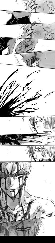 One Piece, Zoro, Sanji
