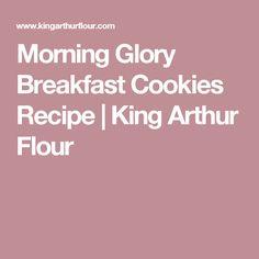 Morning Glory Breakfast Cookies Recipe | King Arthur Flour