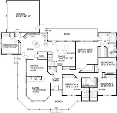 Bedroom 2 would turn into office and the hobby room would be a laundry room and pantry.