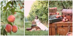 peach orchard, bridal portrait, copyright @Kristin Plucker Vining Photography Charlotte, NC Wedding Photographer