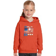 Born To Score Works Either Way Female BaseBall Player 2 Kids Hoodie