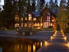 Tahoe City villa rental (my dream home)