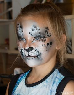 face painter juliet eve turns children into lions tigers dogs cats robots zombies fairies and butterflies each design like each child is a on # Leopard Face Paint, Kitty Face Paint, Cat Face, Face Painting Designs, Paint Designs, Body Painting, Animal Face Paintings, Animal Faces, Artistic Make Up