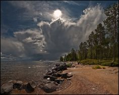 Ladoga Lake, North of Russia