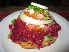 tostadas...my all time favorite Guatemalan food