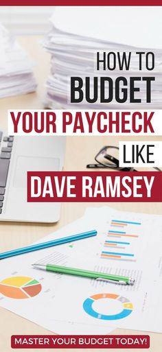 How To Budget Your Paycheck Like Dave Ramsey budget dave ramsey | budgeting categories | budgeting percentages | monthly budget #budget #budgeting