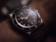 Rolex Submariner 114060 'No Date' Vs. Tudor Heritage Black Bay Black Comparison Watch Review Wrist Time Reviews