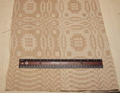 Lovely Handwoven 19th Century Oatmeal Beige by ChenilleBliss