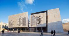 Renzo Piano Building Workshop, Michel Denancé · Valletta City Gate