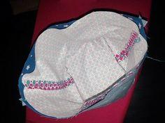 Tuto : le panier en tissu - Je fais moi même Coin Couture, Sewing, Crochet, How To Make, Diy, Plait, Dimensions, Voici, Annie