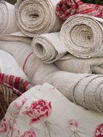 Antique and Vintage Linen Yardage