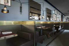Ceresio 7 restaurant. Location: Milano, Italy; architects: storageassociati+Dimore Studio; year: 2103