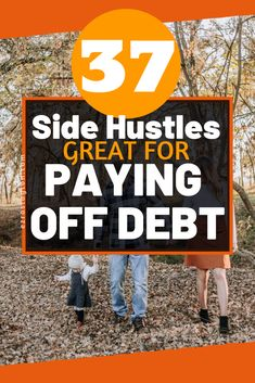 37 Simple Ways To Make Money And Pay Off Debt Starting Now! #payingoffdebt #finance