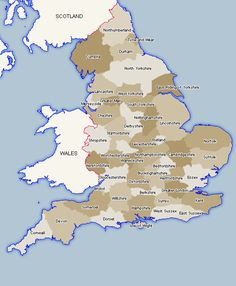 Counties of England.  Although Middlesex no longer officially exists, it is still widely used and many including the post office refuse to let Middlesex go.