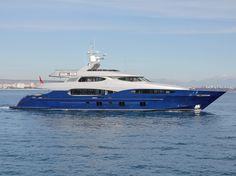 Vicem Vulcan 46 superyacht hits the waters