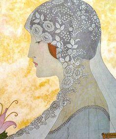 Art Deco Illustration, Wedding Album, Vintage Beauty, The Past, Aurora Sleeping Beauty, Wedding Printable, Pastel, Vintage Weddings, Disney Princess