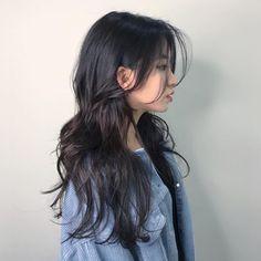 Haircuts Straight Hair, Long Hair Cuts, Korean Long Hair, Korean Haircut Long, Medium Hair Styles, Curly Hair Styles, Mullet Hairstyle, Long Layered Hair, Cut My Hair