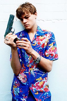 "Leonardo DiCaprio, ""Romeo + Juliet"" photoshoot"