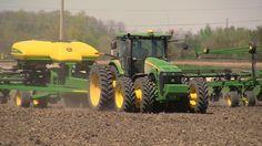 Pitstick Farms - John Deere DB90 Planter on 5-7-2013