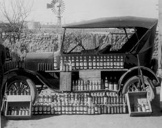 Smuggling bust in Pinto Canyon (west of Presidio), 1929. —) via Traces of Texas FB