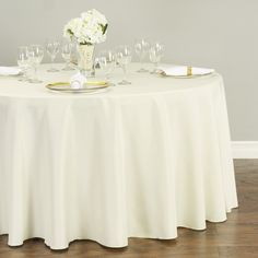 pintuck 120 round tablecloth white in 2019 products 120 round rh in pinterest com